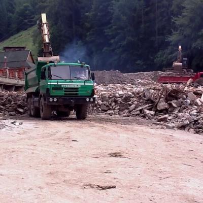 Povodeň Vrátna dolina 2014-2016