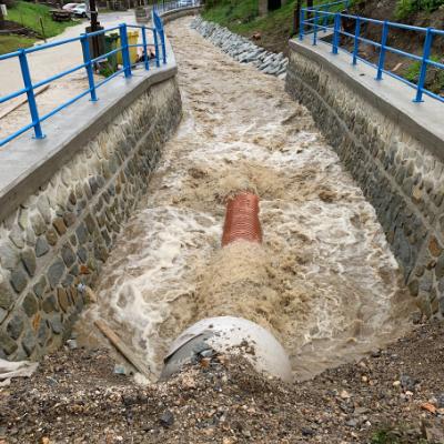 Čadca rieka 2018 – 2019